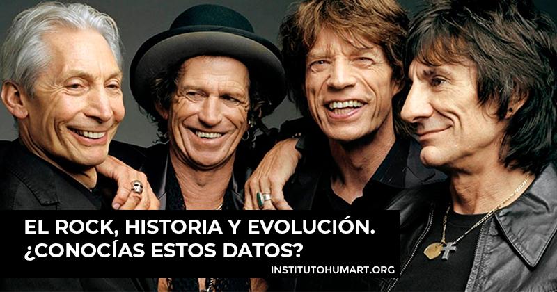 el rock, historia y evolución