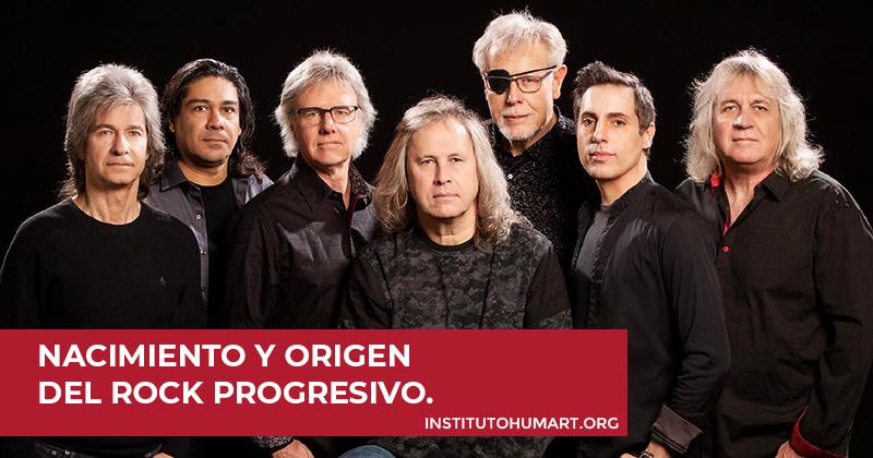 Nacimiento y origen del rock progresivo.