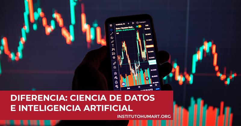 diferencia entre la ciencia de datos la inteligencia artificial